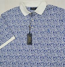 Polo Ralph Lauren Shirt Soft Touch Blue Floral Big & Tall 2XB 2XLT NWT $125
