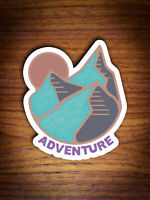 Adventure Sticker / Mountain Sticker / Camping Sticker / Water Bottle Sticker