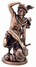 Hermes Mercury Greek Roman Messenger God of Wealth Trade & Travel Statue #3233