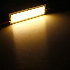 Warm White 1000LM 10W COB LED Strip Light High Power Lamp Chip 12V-24V For Car