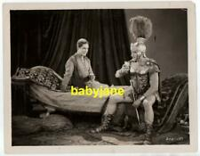 RAMON NOVARRO FRANCIS X BUSHMAN ORIGINAL 8X10 PHOTO 1925 BEN-HUR