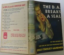 ERLE STANLEY GARDNER The D. A. Breaks a Seal FIRST EDITION