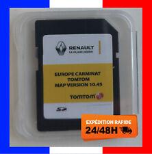 RENAULT CARMINAT Europe 10.45 CARTE SD TOMTOM GPS 2020