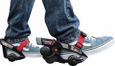 Razor Turbo Jets Electric Heel Wheels - Size 11, Black/Red