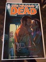 The Walking Dead #22 VF/NM SIGNED by Robert Kirkman, Charlie Adlard, Tony Moore