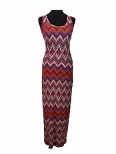 PRIMARK Maxi Dress Size 8 Multicoloured *NEW w/ TAGS* L57in Holiday Lunch Casual