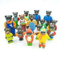 Figurines Petit Ours Brun - A l'unité - Figurine au choix