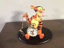 Limited Edition Gold Tigger Pocket Watch Disney Catalog Exclusive 875/1000