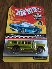 Hot Wheels 5th Annual Collectors National Convention S'Cool Bus - Chicago