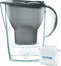 BRITA Carafe Filtrante Marella 2.4L Graphite +Cartouche Filtrante MAXTRA incluse