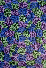 Aboriginal Art Painting Dot OutBack Australia Alice Springs