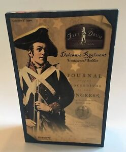 SIDESHOW COLLECTIBLES Fife And Drum Collection Delaware Rgt Continental Soldier