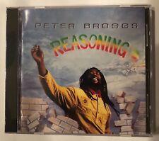 Peter Broggs 'Reasoning' CD Ras Records Reggae Brand New Sealed - Rare!