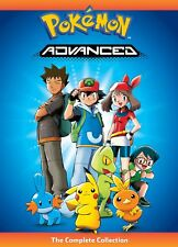 Pokemon Advanced: The Complete Collection (DVD, 2017, 5-Disc Set) NEW