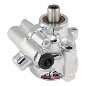 Tuff Stuff 6175ALD-6 Type II Alum. Power Steering Pump LS1 Threaded Mounting NEW