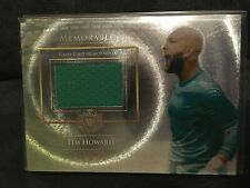 2015 Futera Unique Jersey Card Memorable Tim Howard