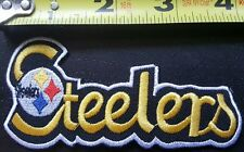 """Pittsburgh Steelers NFL 4"""" Iron On Embroidered Patch ~USA Seller~FREE Ship"""