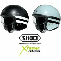 Shoei J.O Sequel Helmet Inner Sun Shield Vintage Retro Lightweight DOT XS-2XL