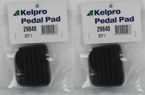 Brake & Clutch Pedal Pads - TO SUIT HOLDEN RODEO TF R9 MODELS 4 & 6CYL 1988-2004