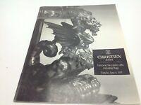 Christie's East Auction Catalog European Decorative Arts June 6 1995 NY