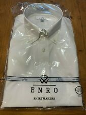Enro EZCool Non-Iron Dress Shirt 16.5 35/36 Tall - White