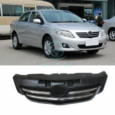 For Toyota Corolla 2007-2009 Chrome Front Middle Upper Grille Bumper Grill Trims