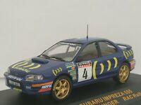 1/43 SUBARU IMPREZA 555 MCRAE 1995 RAC RALLYE IXO RALLY CAR ESCALA DIECAST