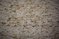 "Camo Fabric Desert Marpat Usmc T Shirt Knit 2-Way Stretch 58"" Camouflage By Yd"