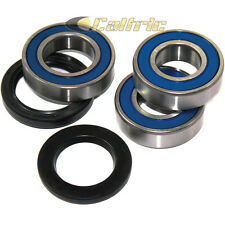 Rear Wheel Ball Bearings Seals Kit Fits KAWASAKI ZX-7R Ninja ZX750 1991-2003