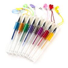 8 X PROFUMATA Glitter Penne GEL con frutta charms bambina kids Stocking Filler Regalo