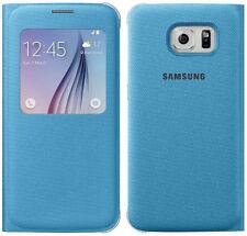 Genuine Samsung S VIEW FLIP CASE Galaxy S6 G920F smartphone book cover original