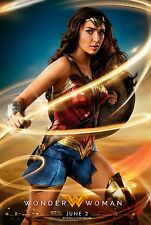 Wonder Woman Movie Poster (24x36) - Gal Gadot, Chris Pine v7