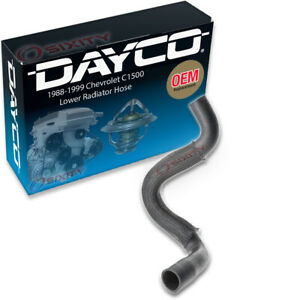 Dayco Lower Radiator Coolant Hose for 1988-1999 Chevrolet C1500 5.0L 5.7L V8 nl