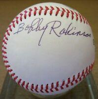 Bobby Robinson Signed Baseball - PSA DNA
