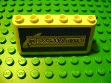 LEGO SPORTS SOCCER WHITE PANEL WINDSHIELD LEGO.com BLUE AD SIGN LOGO FENCE FIELD