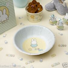 baby shower christening party baby miffy pack of 8 paper bowls