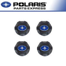 """4 PACK NEW POLARIS CENTER CAP FOR 14"""" WHEELS RZR RANGER SPORTSMAN 4X 1521509-521"""
