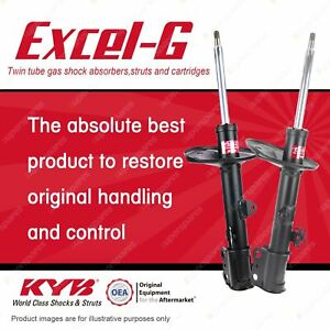 2 x Front KYB Excel-G Strut Shock Absorbers for Toyota Rav 4 ACA 20 21 22 23