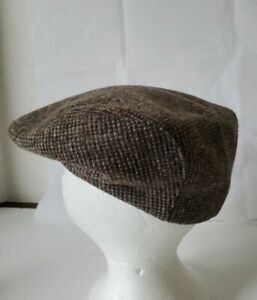 NEW Vintage Stetson Newsboy Cabbie Hat Tweed Wool size Small  Made in USA