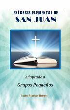 Exegesis Elemental de San Juan: Adaptado a Grupos Pequenos (Spanish Edition)