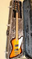 Epiphone Thunderbird Vintage PRO Bass Guitar, Tobacco Sunburst, Fitted Hard Case