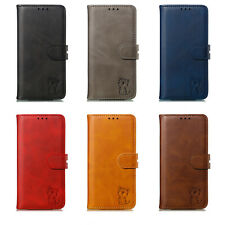 Classic PU Leather Wallet Case Stand Cover For iPhone 11 Pro XS Max X 6 7 8 Plus