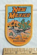 New Mexico NM Roadrunner Road Runner State Bird Souvenir Patch Badge