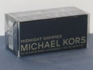 MICHAEL KORS MIDNIGHT SHIMMER (WOODSY/FLORAL/MUSK) EDP SPRAY 30 ml SEALED-NEW!