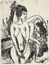 Ernst Kirchner Reproduction: Two Women (Zwei Frauen) - Fine Art Print