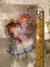 Ashton Drake Collectible Christmas angel ornaments 93072