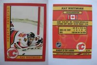 2015 SCA Kay Whitmore Calgary Flames goalie never issued produced #d/10 rare