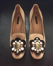 Rare Louis Vuitton Suede Flower Shoes (Size 38)