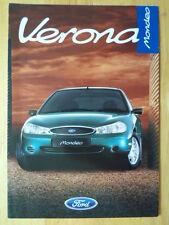 FORD Mondeo Verona 1997 Special Edition UK Mkt sales brochure