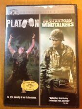 PLATOON & WINDTALKERS DVD IN GREAT CONDITION